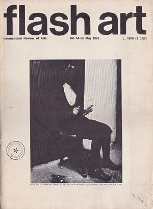 Flash Art n. 54-55 - May 1975: Flash Art n.