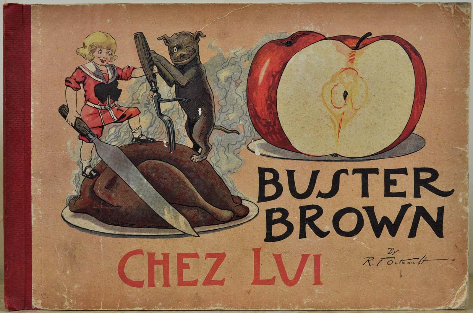 BUSTER BROWN CHEZ LUI.: Outcault, Richard Felton