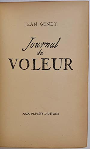 Journal du VOLEUR. Limited edition signed by: Genet, Jean