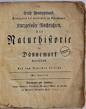 Kurzgefaszte nachrichten, die naturhistorie Dannemark betreffend. Aus dem Danischen uberseszt.: ...