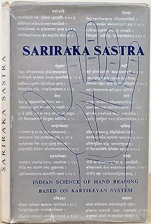 SARIRAKA SASTRA. Indian Science of Palmistry (The: Ayer, V. A.
