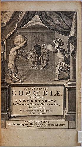 M. Acci Plauti comoediae. Accedit commentarius ex: Plautus, Titus Maccius;