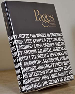 PAGES. The world of books, writers and writing. Signed.: Bruccoli, Matthew; C. E. Frazer Clark, eds...