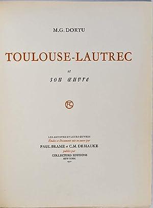 Toulouse-Lautrec Et Son Oeuvre. Six volume set.: Dortu, M. G.; Henri De Toulouse-Lautrec