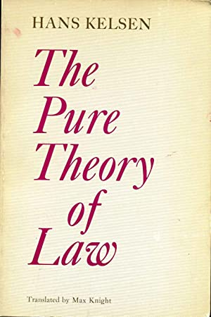 THE PURE THEORY OF LAW.: Kelsen, Hans