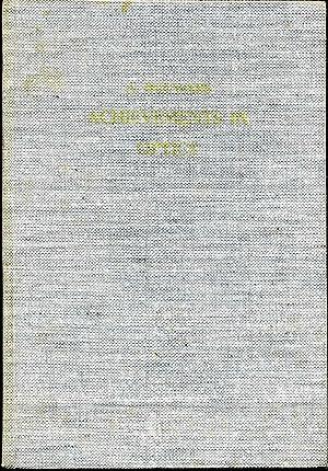 ACHIEVEMENTS IN OPTICS.: Bouwers, A.