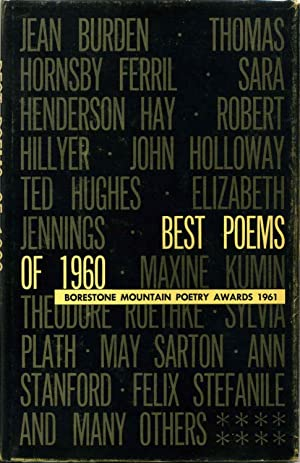 BEST POEMS OF 1960. Borestone Mountain Poetry Awards 1961. Volume XIII.: Stanford, Ann; Alex ...