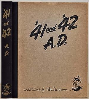 41 and '42 A.D. Cartoons by Vaughn: Shoemaker, Vaughn