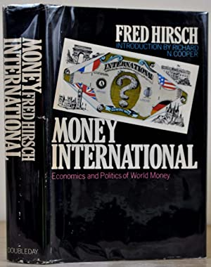 MONEY INTERNATIONAL. Signed by the author.: Hirsch, Fred