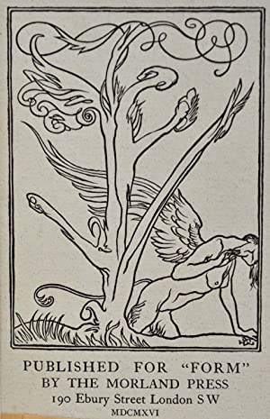 TWELVE POEMS. Decorations by A. Spare, cut on wood by W. Quick.: Squire, J.C.