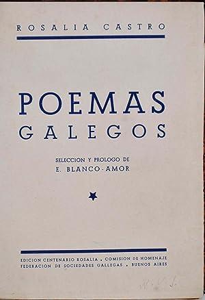 POEMAS GALEGOS.: Castro, Rosalia