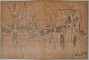 Suites. No. 3. Avril 1963. Wilfredo Lam.: Lam, Wilfredo