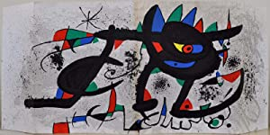 Miro Paintings Gouaches Sobreteixims Sculpture Etchings. May 1973.: Miro, Joan; Jacque Dupin; John ...