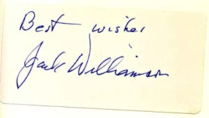 Wonder's Child: My Life in Science Fiction. Signed by Jack Williamson.: Williamson, Jack