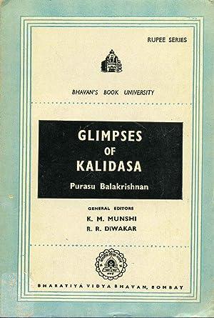 GLIMPSES OF KALIDASA.: Balakrishnan, Purasu