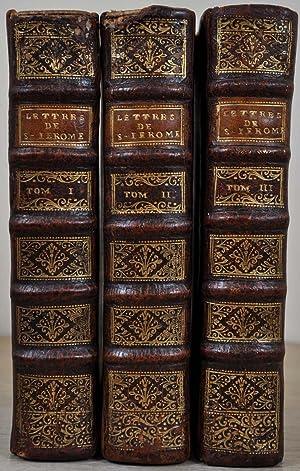 LETTRES DE S. JEROME traduites en francois sur les Editions et sur plusieurs manuscrits ...