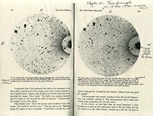 Printed photograph of the planet Pluto, signed and inscribed by astronomer Clyde W. Tombaugh.: ...