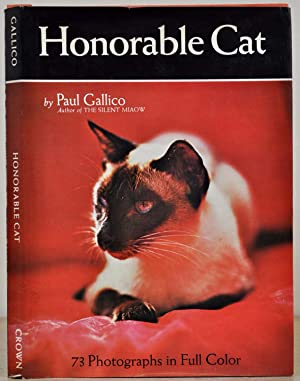 HONORABLE CAT. Signed by Paul Gallico.