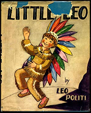 LITTLE LEO. Signed and with an original watercolor by the author/artist.: Politi, Leo