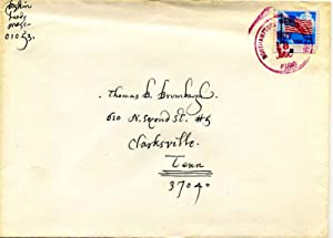 Collection of five related Autograph Letters Signed (ALS): Baskin, Leonard (1922-2000)