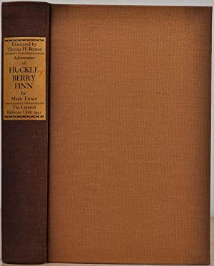THE ADVENTURES OF HUCKLEBERRY FINN [Tom Sawyer's Companion]. Limited edition signed by Thomas Har...