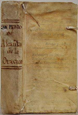 TRATADO DE LA ORACION, Y MEDITACION, que escrivio el mystico maestro y Doctor Iluminado, San Pedro ...