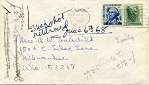 Autograph Note Signed by Sylvia Shaw Judson (1897-1978).: Judson, Sylvia Shaw