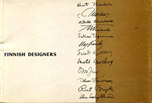 FINNISH DESIGNERS.: Zilliacus, Benedict