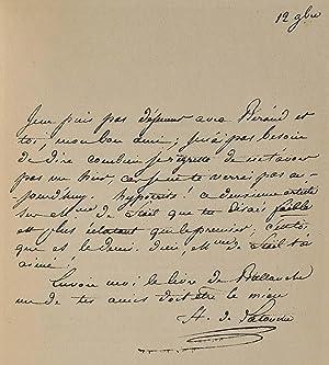 FRAGOLETTA. Naples et Paris en 1789.: de Latouche, Henri