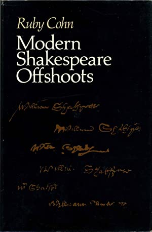 MODERN SHAKESPEARE OFFSHOOTS.: Cohn, Ruby