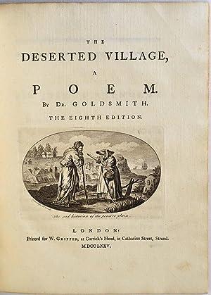 THE DESERTED VILLAGE. A Poem.: Goldsmith, Oliver