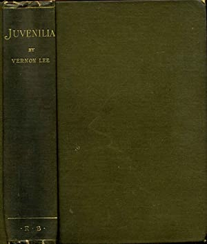 JUVENILIA: Being A Second Series of Essays on Sundry Aesthetical Questions.: Lee, Vernon