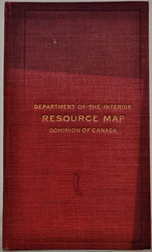 Resource Map of the Dominion of Canada.: Canada. Dept. of Interior