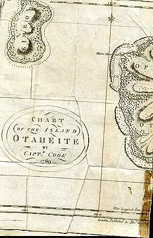 Chart of the island Otaheite by Capt. Cook 1769.: Hogg, Alexander fl. 1778-1810