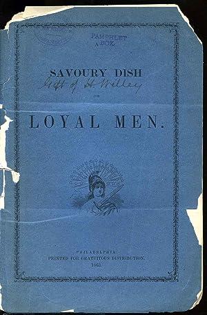 Savoury dish for loyal men, A.: Rosecrans, Gen. William Starke 1819-1898 et all