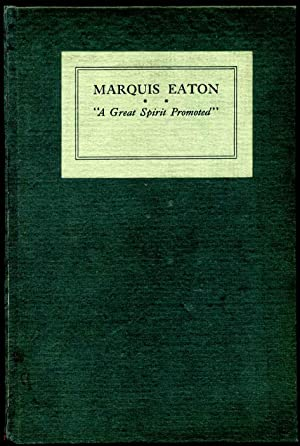 A Farewell Service to a Great Spirit Promoted: Marquis Eaton.: Eaton, Marquis