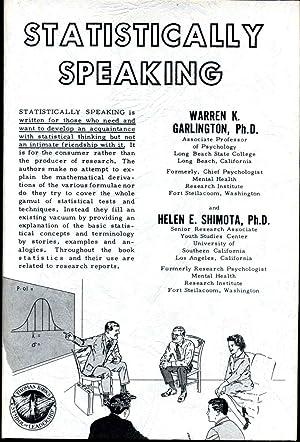STATISTICALLY SPEAKING.: Garlington, Warren K.; Helen E. Shimota