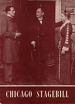 Selwyn Theatre Program for The Winslow Boy: Webb, Alan; Frank