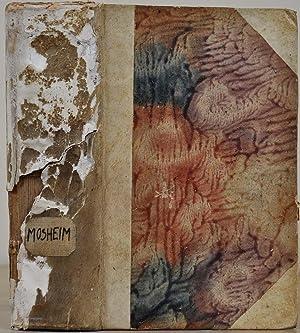Io. Laur. Moshemii Dissertationum ad historiam ecclesiasticam pertinentium. Volumen alterum.: ...