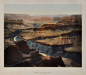 GRAND CANYON OF ARIZONA. Hand-Colored Photographs.: Harvey, Fred; El Tovar Studio