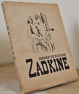 ZADKINE. Signed and inscribed by Ossip Zadkine.: de Ridder, Andre; Ossip Zadkine