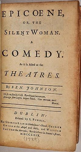 BEN JOHNSON'S PLAYS. [Jonson]. Volume II of a two volume set.: Jonson, Benjamin (1573?-1637)