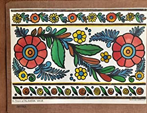 Mexico Designs Floral and Pictorial Lithographs
