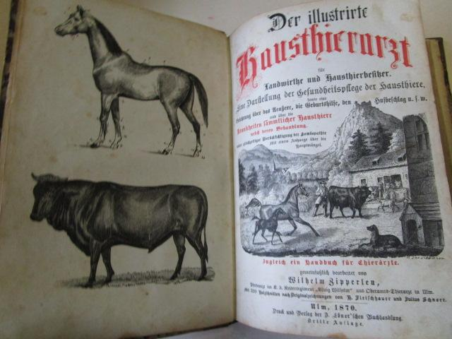 Der illustrirte Hausthierarzt für Landwirte und Hausthierbesitzer: Zipperlen, Wilhelm: