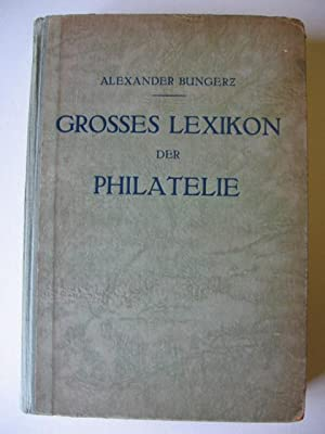 Grosses Lexikon der Philatelie.