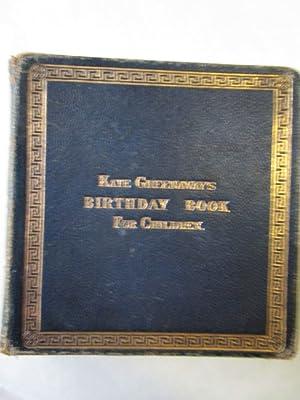 Kate Greenaway's Birthday Book for Children: Greenaway, Kate: