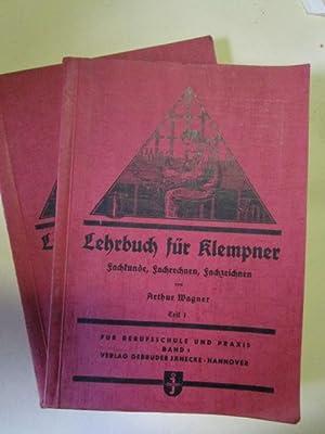Lehrbuch für Klempner. Fachkunde, Fachrechnen, Fachzeichnen. 1.: Wagner, Arthur: