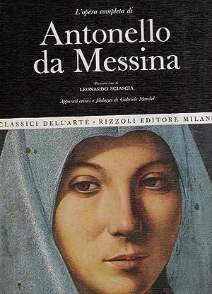 L'opera completa di ANTONELLO DA MESSINA: Leonardo Sciascia