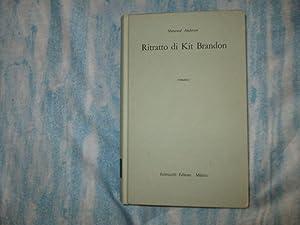 RITRATTO DI KIT BRANDON: SHERWOOD ANDERSON