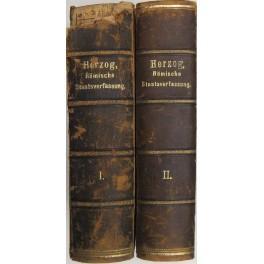 Geschichte und system der romischen staatsverfassung. Erster: Herzog Ernst